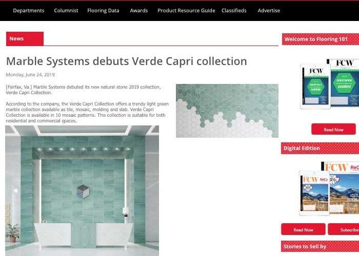 FCW Capri Verde June 2019