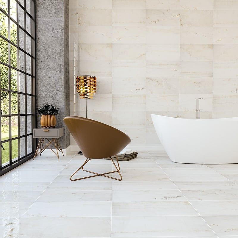 Calacatta Amber Marble Collection