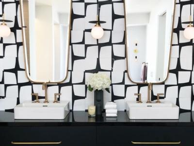 modern glamour tiles
